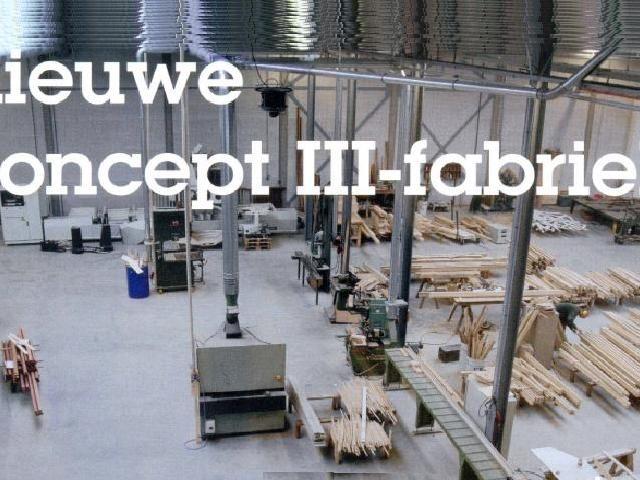 Nieuwe concept III-fabriek Van den Oudenrijn Bodegraven