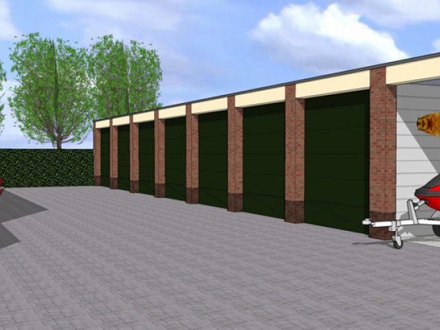 Garages, ai, Van den Oudenrijn Projectontwikkeling Bodegraven