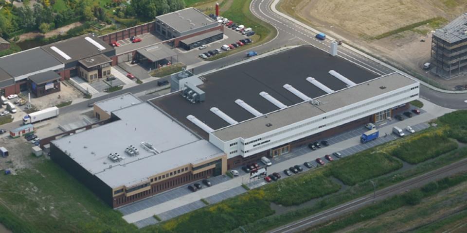 Kantoor Bodegraven, luchtfoto 2Van den Oudenrijn Projectontwikkeling Bodegraven